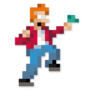 Day #147 - Philip J. Fry by JinnDEvil