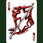 2 Of Diamonds aka 2 Of Earth by LineDetail