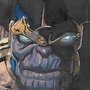Thanos Post-it by JDahl22