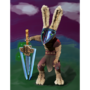 Warrior rabbit (old model) by TheAttick