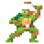 Day #148 - Michelangelo by JinnDEvil