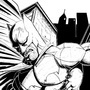 Batman Inks by Roxedo