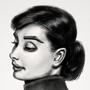 Audrey Hepburn Portrait by fxscreamer