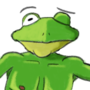 Saucy Dancing Frog Dude by SoySocks