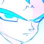Super Sayian Blue Majin Vegeta by Animetion97