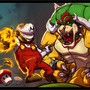 mario browser fight by AngeloNardone