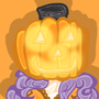 Pumpkin Head Abrie by Pegagamer