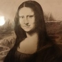 Mona Lisa in charcoal by MadArtInk