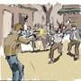 Resident Evil 4 Kick me, Pateame by SergioArturoLopezMor