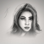Scarlett Johansson Portrait by fxscreamer