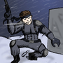 Solid Snake by Th3Reaper