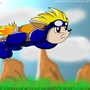 Sparkster the rocket knight by Magnum13