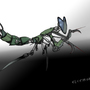 Electromantis by Plasmatic-gecko