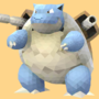 Poly Art Blastoise by PikachuHat