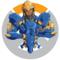 Overwatch-Pharah coloured