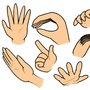 Hand Practice by AlexDeHatter