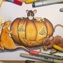 Halloween rats copic by ScribbleFix