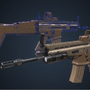 FN Scar WIP by AlirezaMorgan