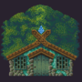 Forrest house (game asset) by Algishalo