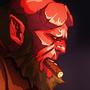 Hellboy by beekart