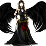 Black-Winged Goddess by Vantelieth