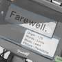 Farewell. by Precipitation24