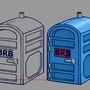 Prop Design - Portapotty by Blounty