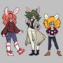 Bunny Line Up by Pyanny