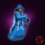 Arena Online Wizard 3D Model by Johngreene