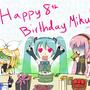 Miku 2015 Birthday by JuliusMabe