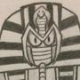 Pharaoh Man sketch by V-I-L-E