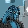 Hank goes DC by MavisRooder