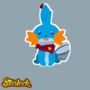 Mudkip by Starloid