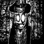 Miiverse Halloween drawing from 2015 by Mightydein