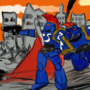 Ultramarines by Akillez