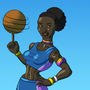 Basketball Babe by BrandonP