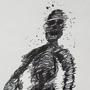 Inktober 4: Black Ghost by AlexBeefgnaw