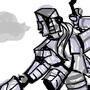 Robo Warrior girl by hreyas