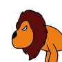 Lion by Stickening