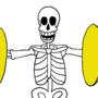 Spooky Skeleton by TheOwlQueen