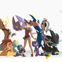 Favs Pokemons by MokkoMia