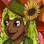 Inktober day 4- Garden witch by miliade