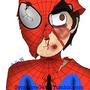 Battle Damaged Spiderman by Symbiote04