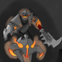 Chaos Knight by GrilledCheese042