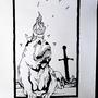 Inktober 1 - Heck Pup by Skaalk