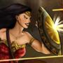 Diana in Battle - Wonder Woman by kenDandy