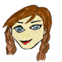My First Digital Drawing by HarleaAmelia