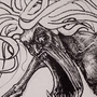 Inktober 2: Noisy by SuperBastard