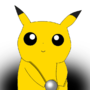 Baby Pikachu playing with a ball by NGBaronAwesomeness