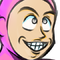 Inktober Sketch #8: Pink guy (Colored)